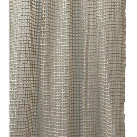 "Pr Nets 2'9"" x 2' Dark Cream Large Mesh Crochet"