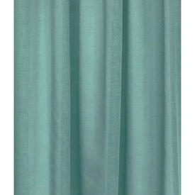 """Pr Nets 3'3"""" x 7' Pale Turquoise Cotton Voile"""