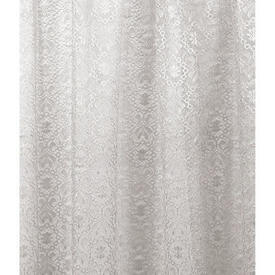 Pr Nets 3' x 4' Off White All Over Patt Poly-Lace