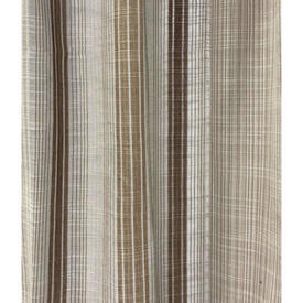 """Pr Nets 4'4"""" x 3'6"""" Beige / Brown Stripe Weave"""