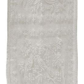 Pr Panels 4' x 2' Ivory Bird & Floral Lace Squares