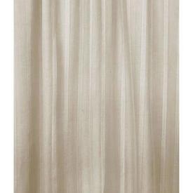 Pr Nets 9' x 4' Cream Stripe Cotton Voile
