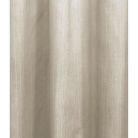 "Pr Nets 9'9"" x 4'9"" Cream Pinstripe Cotton Voile"