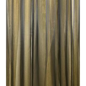 Pr Nets 11' x 10' Olive / Gold Shimmer Voile