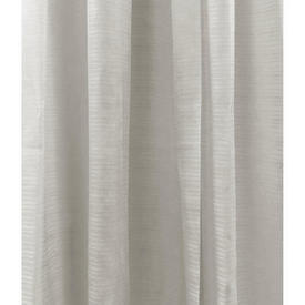 Pr Nets 5' x 7' Off White Horizontal Stripe Voile