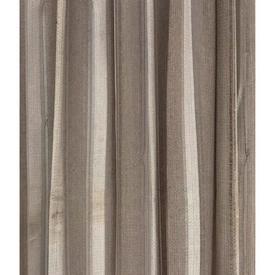 Pr Nets 6' x 4' Beige Taupe Wide Stripe Weave (AF)