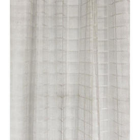 "Pr Nets 5'11"" x 3' Off White Check Lace"