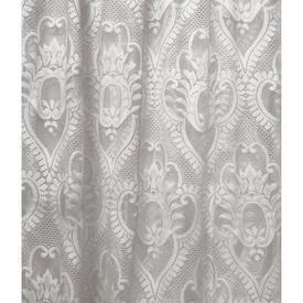"Leg Net 6'3"" x 5'6"" Ivory Floral Damask Patt Poly-Lace"