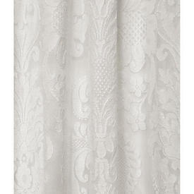 "Pr Nets 7'10"" x 5' Off White Large Floral Madras Lace"