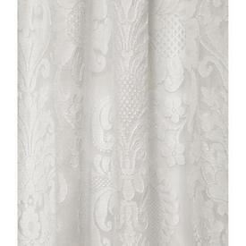 "Leg Net 7'10"" x 5' Off White Large Floral Madras Lace"