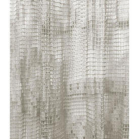 Pr Nets 8' x 4' Off White Scroll Macrame / Fringed