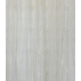 Pr Nets 8' x 4' Dark Cream Star Spot Lace