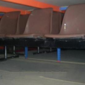Castelli Brown Beam 3 Seat Polyprop Bench
