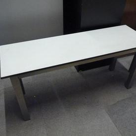 Stainless Steel 3' Grey Top  Mkb  Bench Seat
