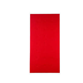 Red Felt Buttoned 8' X 4' Hlm Screen