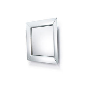 "Square Mirrored Glass Frame ""Caadre"" Wall Mirror"