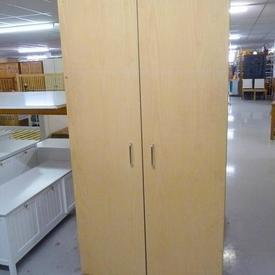 David Bailey Birch / Metal Handle Wardrobe