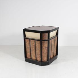 Gloss Black & Copper Light-Up Bar Corner Section