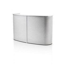 Oval Ribbed Ali D.J. Console / Bar (152Cm X 65Cm X 92Cm)