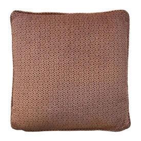 """Cushion 18"""" x 18"""" Burnt Trellis Print Velvet"""