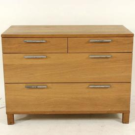 Voice Azzaro Light Oak Low Wide Drawer Base