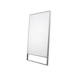 "Silver Frame Lean To ""Maxalto"" Mirror"