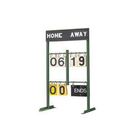 Green Metal Old Style Cricket Score Board
