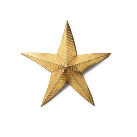 Medium Gold Metal Star