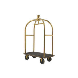 Brass Hotel Luggage Trolley
