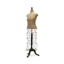 Tailors Dummy on Wire Base