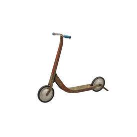 Painted Metal Vintage Scooter