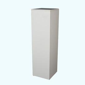 """3'6"""" X 1' White Pedestal/Plinth"""