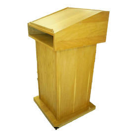 Hand Made Light Oak Hempstead Lectern