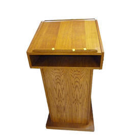 Hand Made Stained Mid Oak Hempstead Lectern