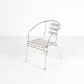 Primo Ali Slatted Elbow Cafe Chair