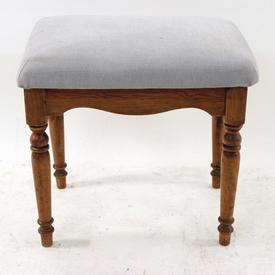 Dark Pine/Oat Dressing Stool