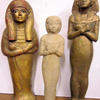 Egyptian Statuettes (36cm to 46cmH)