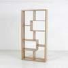 180Cm X 89Cm Oak Tetris Style Open Box Shelf Unit