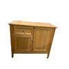85Cm 2 Door 1 Drawer Oak Miller Sideboard