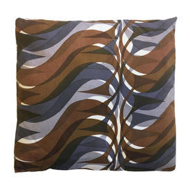"Cushion 16"" x 17"" Chestnut Hull Traders Sigma Wave"