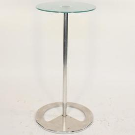 B Rota Tall Circ Top Poser Table