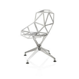 Polished Chrome Swivel ''Chair one'' Chair