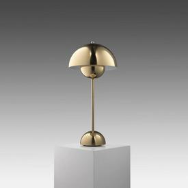 Brass ''Flowerpot'' Table Lamp