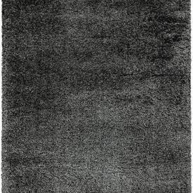 Charcoal Grey Shaggy ''Payton'' Rug
