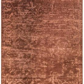 Rust Abstract ''Zehraya'' Rug
