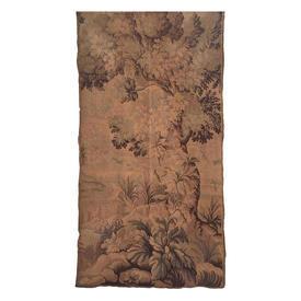 "Wall Hanging 5'10"" x 2'11"" Tan Tree Verdure Berlin Tapestry"