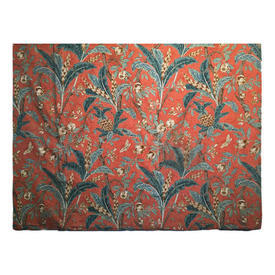 "Wall Hanging 8'4"" x 7' Rust Warners Large Fruit & Leaf Cotton"