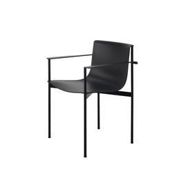 Black ''Ombra'' Dining Chair with Arms