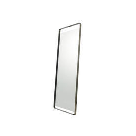 Metal Curved Edge Lean To Mirror