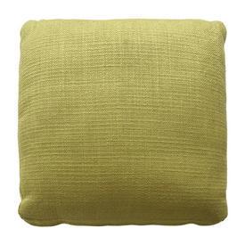 "Squab Cushion 20"" x 20"" x 4"" Lime Textured Weave"